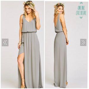 Show Me Your Mumu bridesmaid maxi dress
